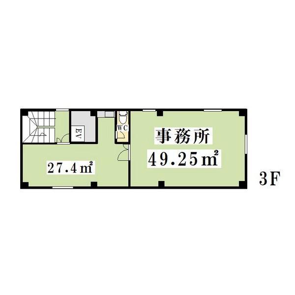 栄1 栄IDビル 平面図