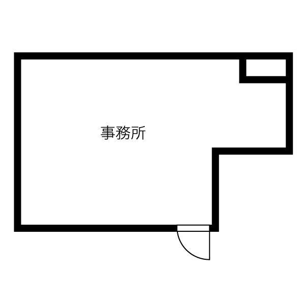 東山通5 サン・東山公園ウエスト 平面図