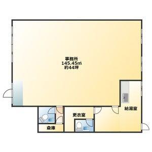菊坂町 MARIYAハイツ 平面図