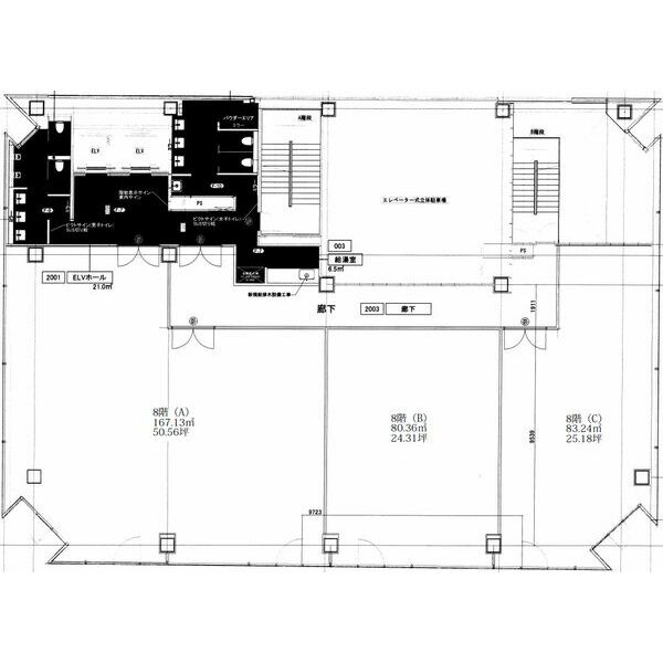 今池3 nonoha千種ビル 平面図