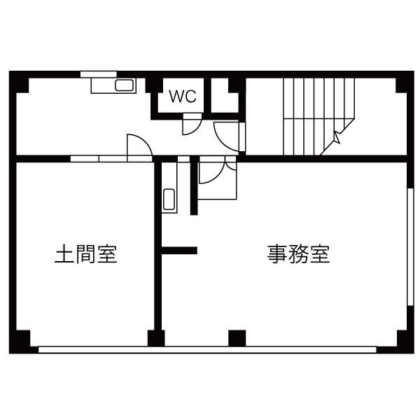 太閤1 青山ビル 平面図