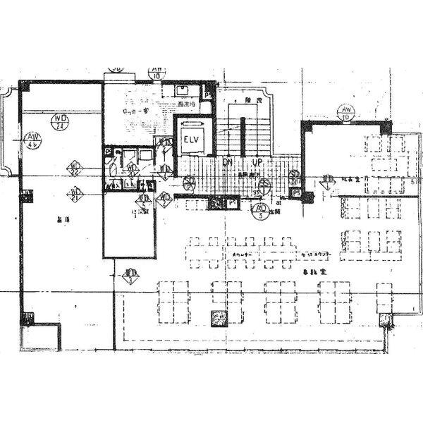 幅下1 サンコート城南 平面図