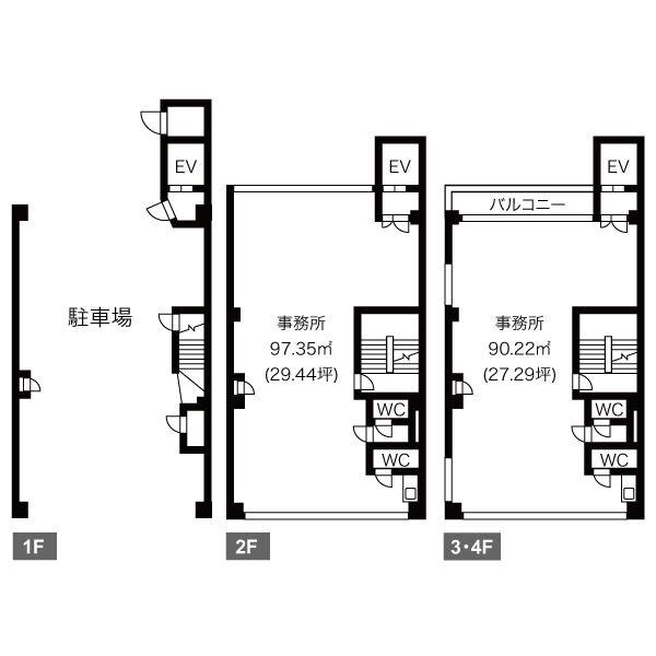 新栄2 MOUNT ACE 平面図