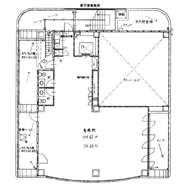 金山1 ベルデ・マーレ・ビル 平面図