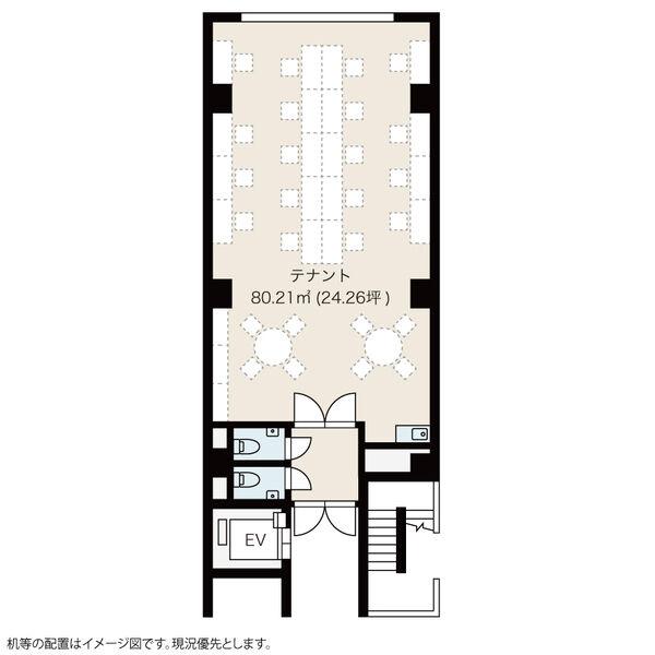 東山通2 HARVEY MOTOYAMA 平面図