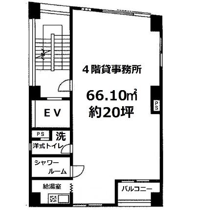 丸の内3 ミュゼット丸の内ビル 平面図