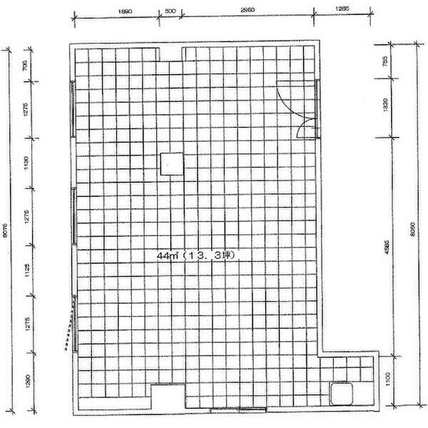 太閤1 シンコービル 平面図